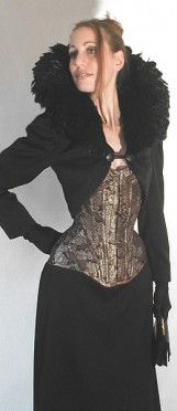 S-Line-Corset with Bolero-jacket